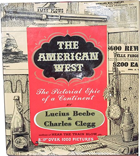 9781125920831: The American West: The Pictorial Epic of a Continent