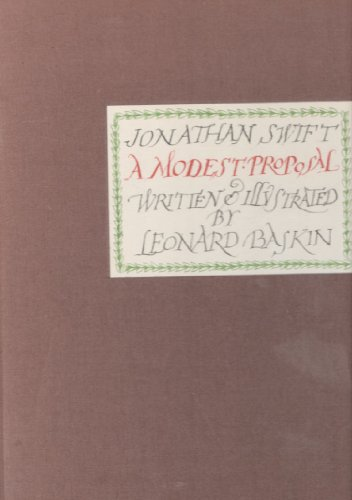 9781125926758: A Modest Proposal [Gebundene Ausgabe] by SWIFT, Jonathan