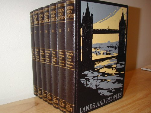 9781125947470: Lands and Peoples (7 Volume Set)