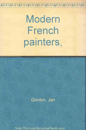 9781125953334: Modern French painters,
