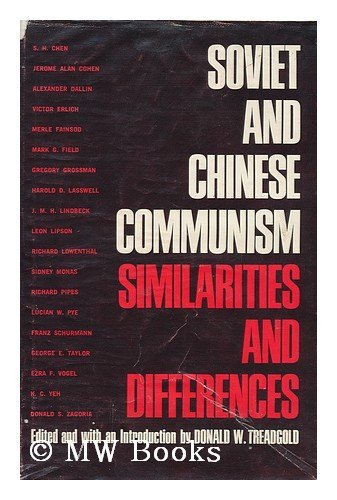 9781125962305: Soviet and Chinese Communism. Similarities and Differences.