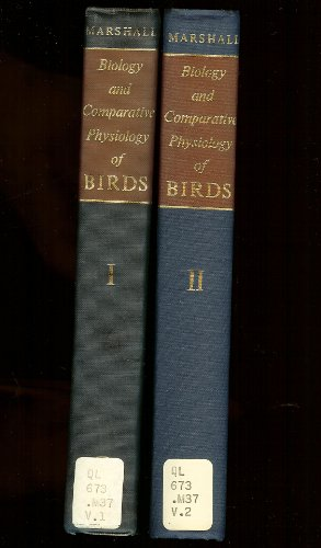 9781125968673: Biology and Comparative Physiology of Birds, (2 Volumes)