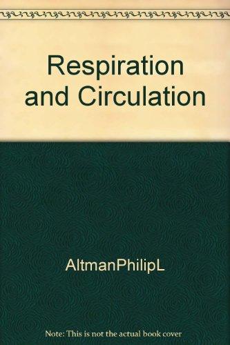 9781125988398: Respiration and Circulation