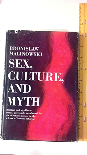 9781127043507: Sex, Culture and Myth
