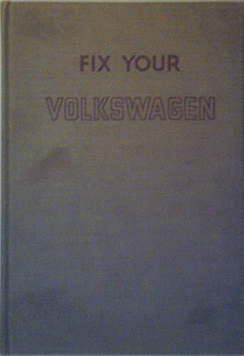9781127056132: Fix your Volkswagen