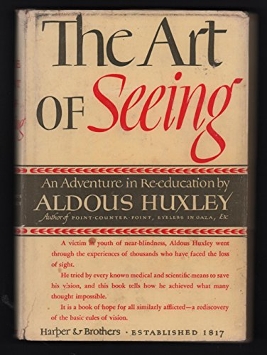 9781127084944: The Art of Seeing