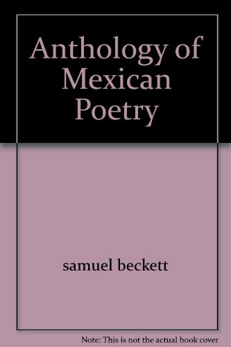 9781127108107: Anthology of Mexican Poetry 1ST Edition