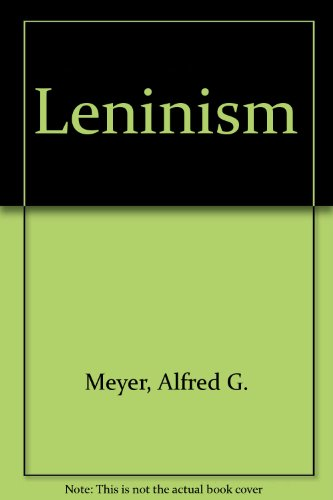 9781127221264: Leninism (Russian Research Center studies)