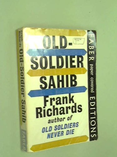 Old soldier sahib, (112722719X) by Frank Richards