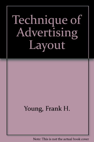 9781127298983: Technique of Advertising Layout