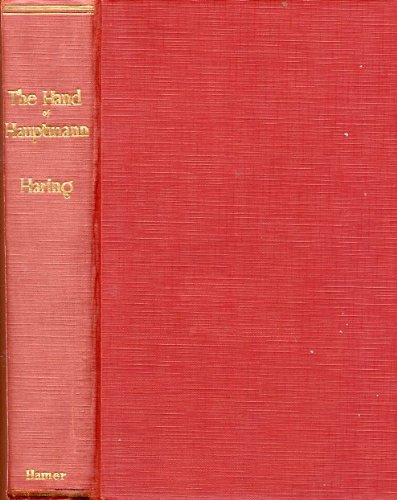9781127354078: The hand of Hauptmann;: The handwriting expert tells the story of the Lindbergh case