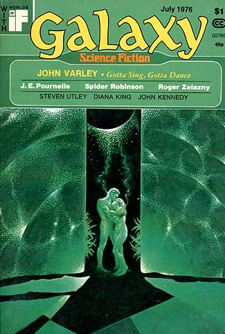Galaxy, July 1976: John Varley, Roger Zelazny, Steven Utley