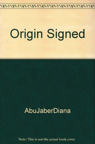 9781127507641: Origin Signed