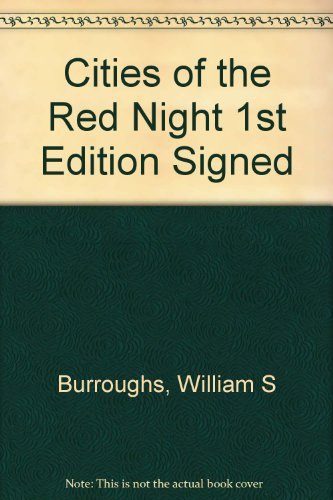 9781127510955: Cities of the Red Night 1st Edition Signed