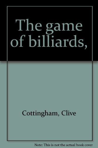 9781127537327: The game of billiards,