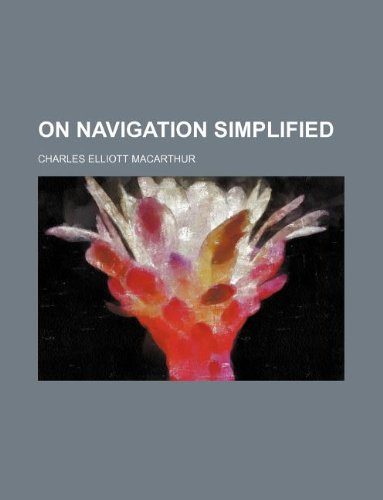 9781130051568: On Navigation Simplified