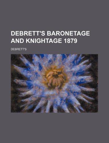 debrett's baronetage and knightage 1879 (1130096556) by Debrett's