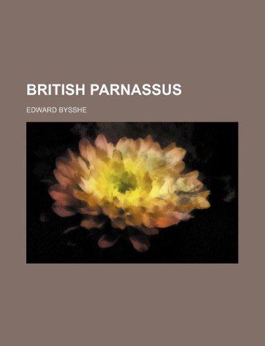 9781130224481: British Parnassus