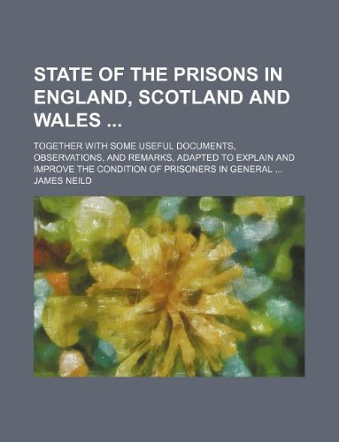 State of the prisons in England, Scotland