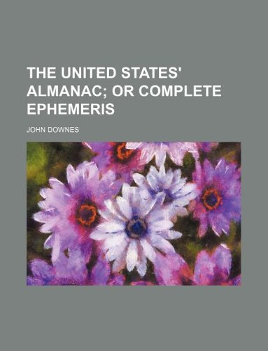 The United States' almanac (1130258629) by John Downes