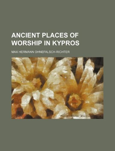 9781130268614: Ancient places of worship in Kypros