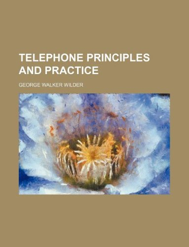 9781130281361: Telephone principles and practice