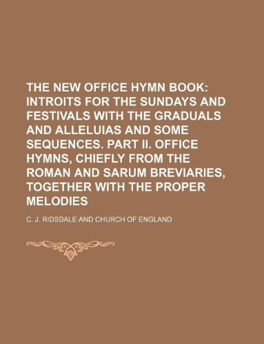 9781130286076: The New Office Hymn Book