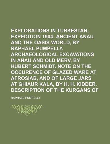 9781130344097: Explorations in Turkestan