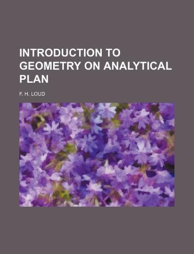 9781130388350: Introduction to geometry on analytical plan