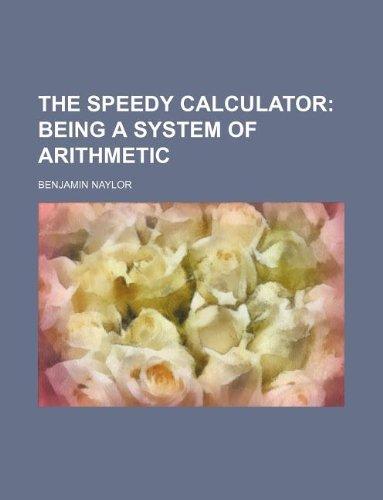 9781130397888: The speedy calculator