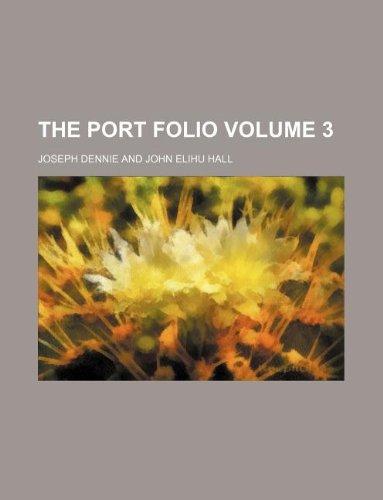 9781130435863: The Port folio Volume 3