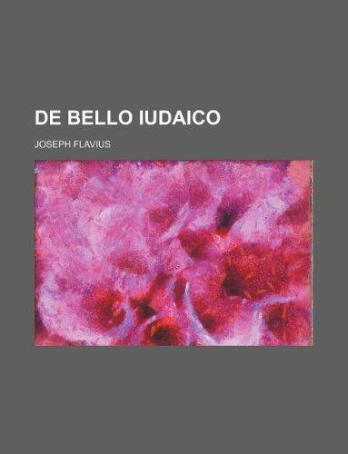 de Bello Iudaico (Paperback): Joseph Flavius
