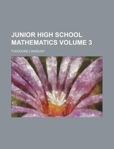 9781130477900: Junior high school mathematics Volume 3