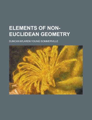 9781130489965: Elements of Non-Euclidean geometry