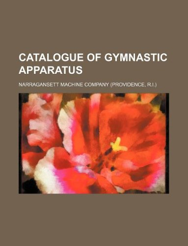 9781130502183: Catalogue of Gymnastic Apparatus