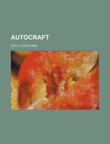 9781130521320: Autocraft