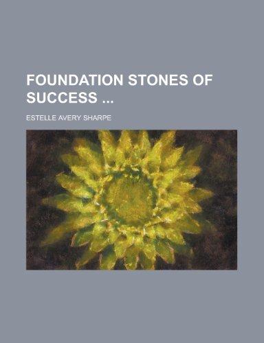 9781130592504: Foundation Stones of Success