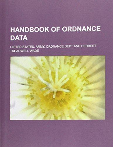 9781130593297: Handbook of ordnance data