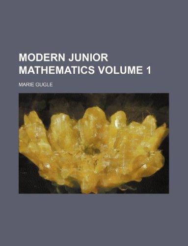 9781130594379: Modern junior mathematics Volume 1