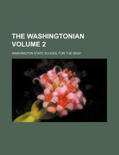 9781130647259: The Washingtonian Volume 2