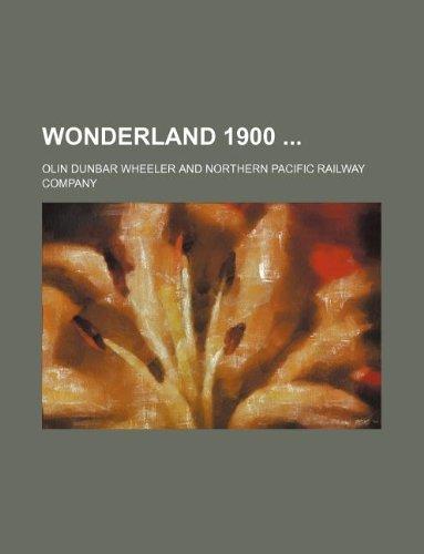 9781130719857: Wonderland 1900