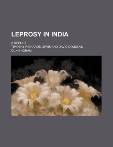 9781130729047: Leprosy in India; a report
