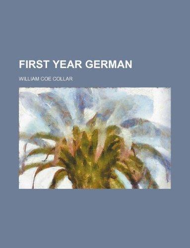 9781130733167: First year German