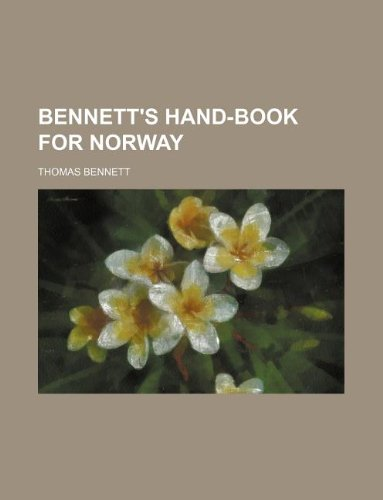 9781130750911: Bennett's Hand-Book for Norway