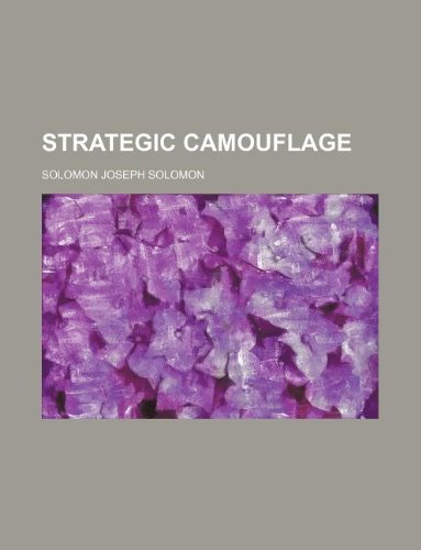 9781130751130: Strategic Camouflage