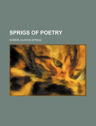 9781130787146: Sprigs of poetry