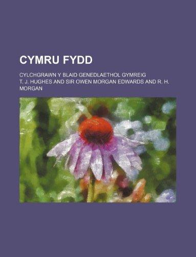 9781130802207: Cymru Fydd; Cylchgrawn y Blaid Genedlaethol Gymreig