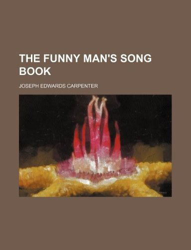 9781130818888: The funny man's song book