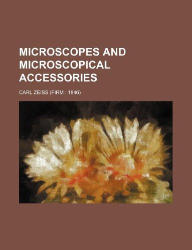 9781130876468: Microscopes and microscopical accessories