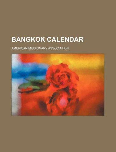9781130881189: Bangkok calendar